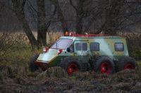 Лопасня - движение по болоту (Московская область)
