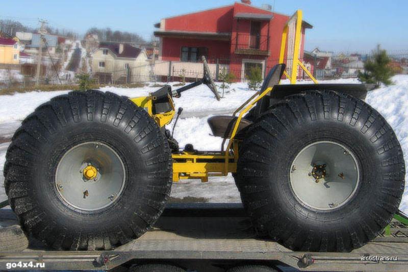 Вездеход на больших колёсах своими руками 55